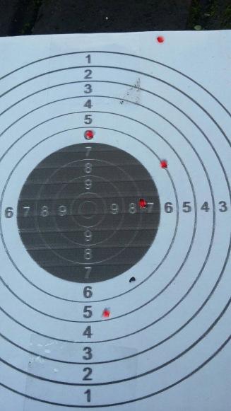 Grouping WG glock 19 10m
