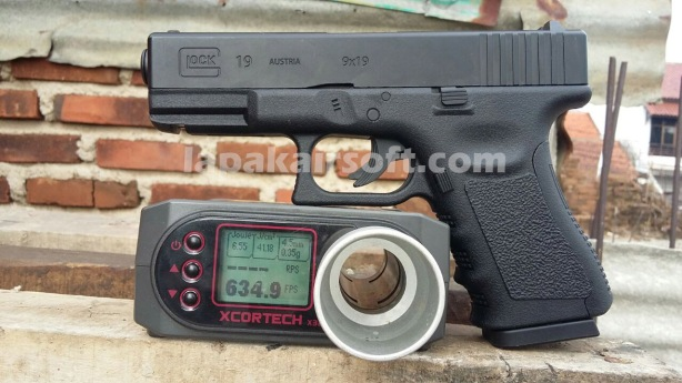 Wingun glock 19 600 fps