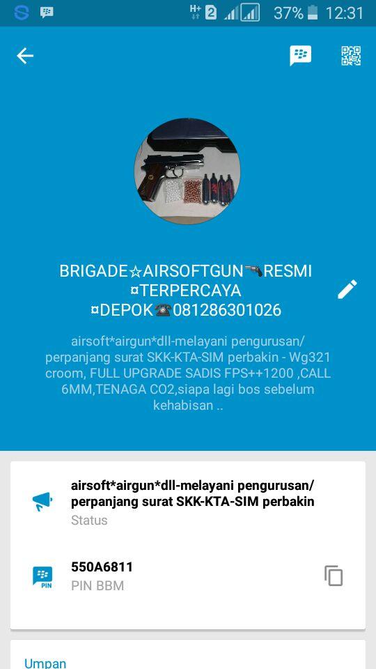 Brigadir Airsoft penipu